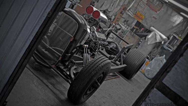 Хот род из автомобиля Москвич-401