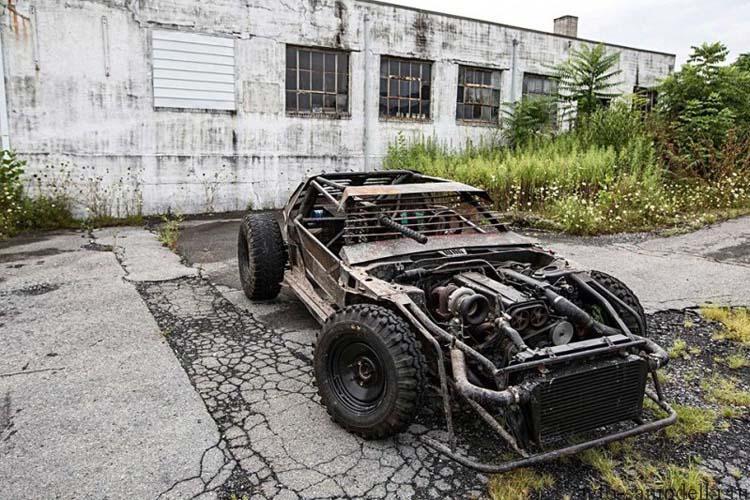 автомобиль зомби апокалипсиса