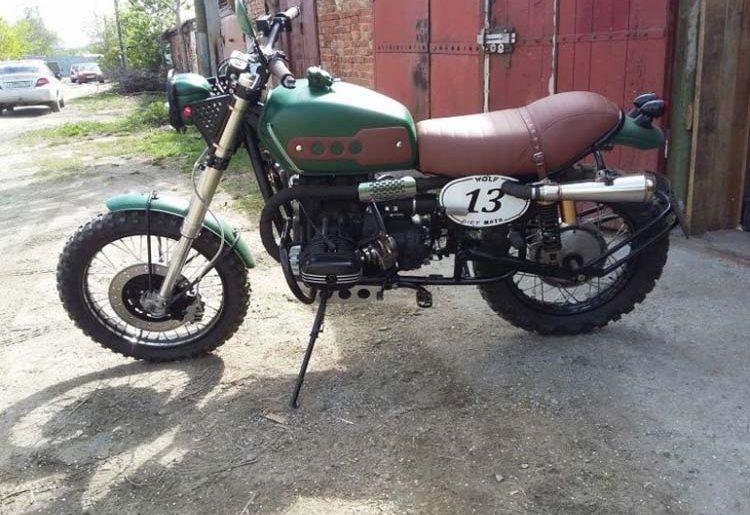кастом мотоцикла урал