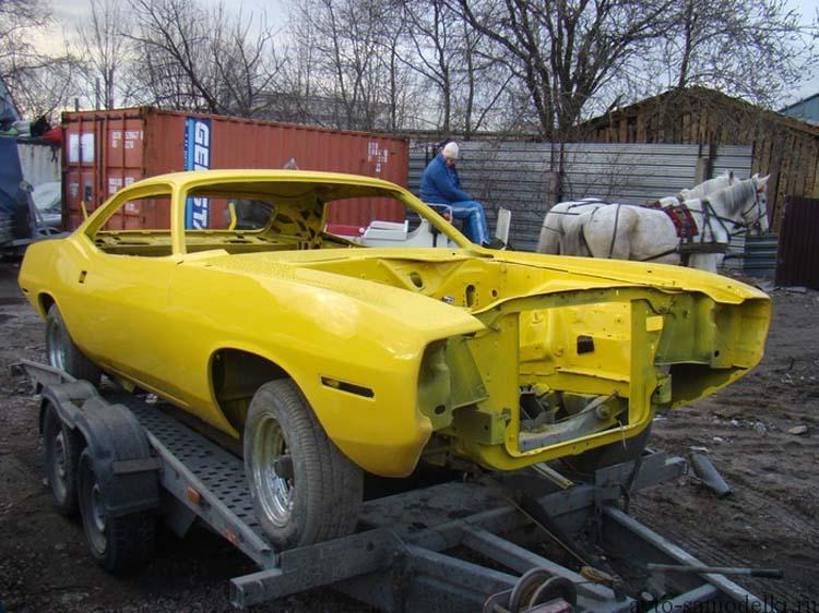 реставрация автомобиля плимут