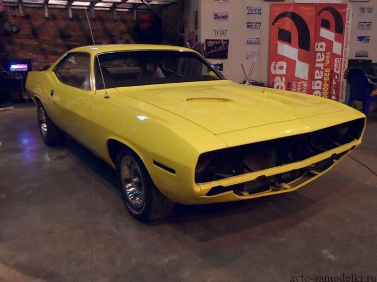 car Plymouth Barracuda