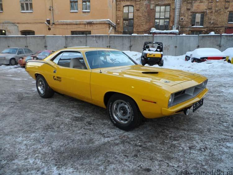 Plymouth Barracuda automobil