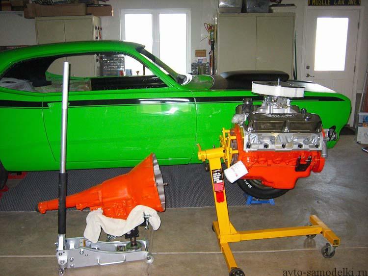 восстановление автомобиля плимут