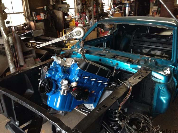 ремонт форд мустанг 1969