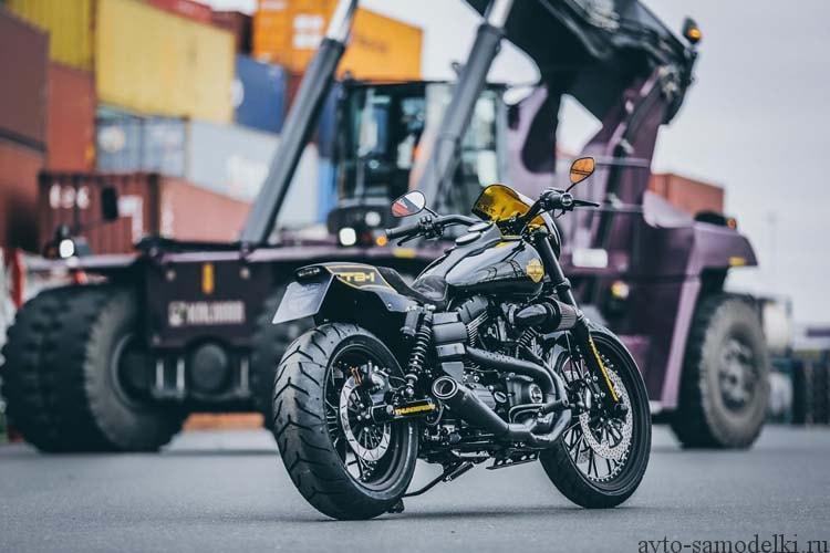 мотоцикл тюнинг
