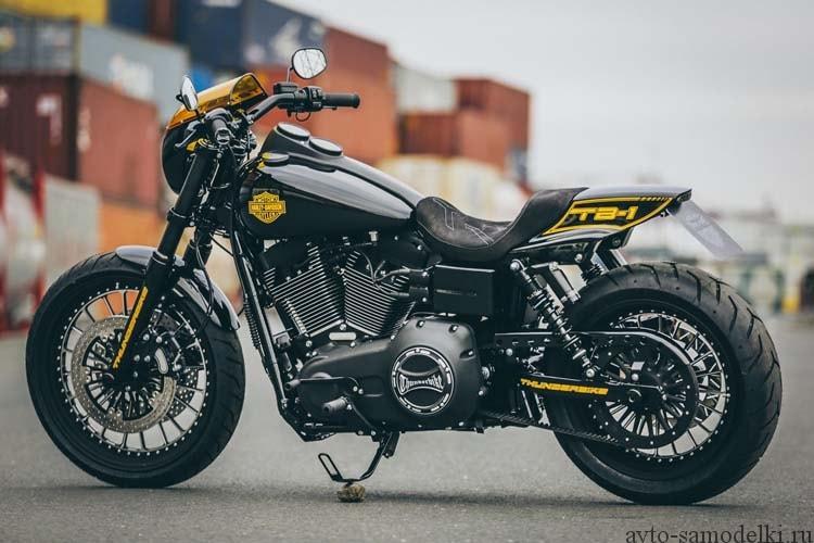 Кастом Harley-Davidson Dyna Low Rider