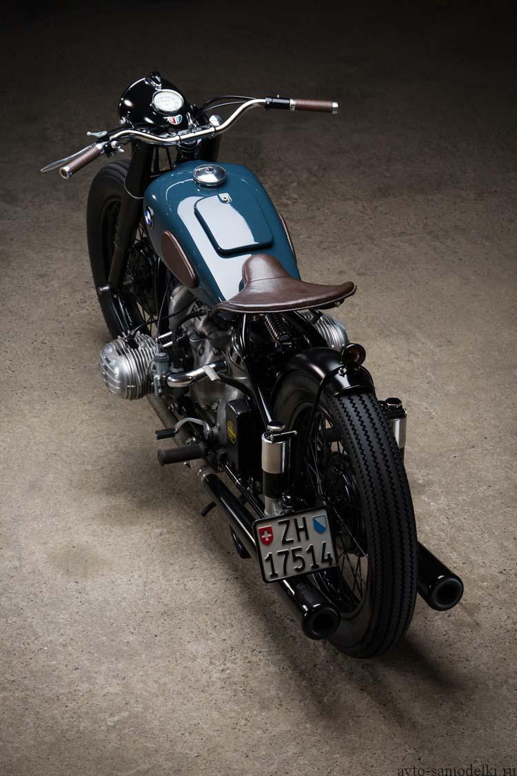 Кастом мотоцикла BMW R51