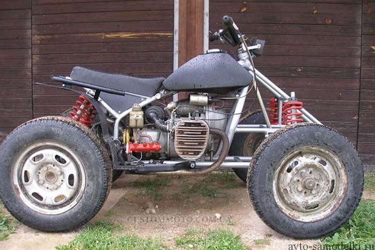 самодельный квадроцикл из мотоцикла