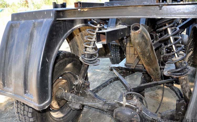 подвеска квадроцикла