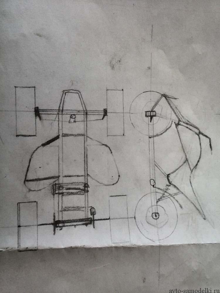 чертежи квадроцикла
