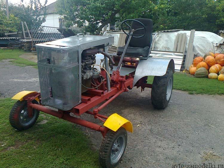 трактор сделанный своими руками
