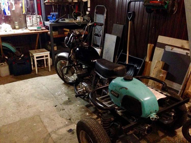 Как сделать мотоцикл муравей фото 831