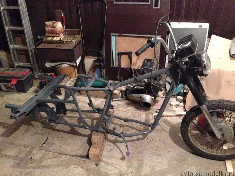 Трицикл с ижа своими руками 88