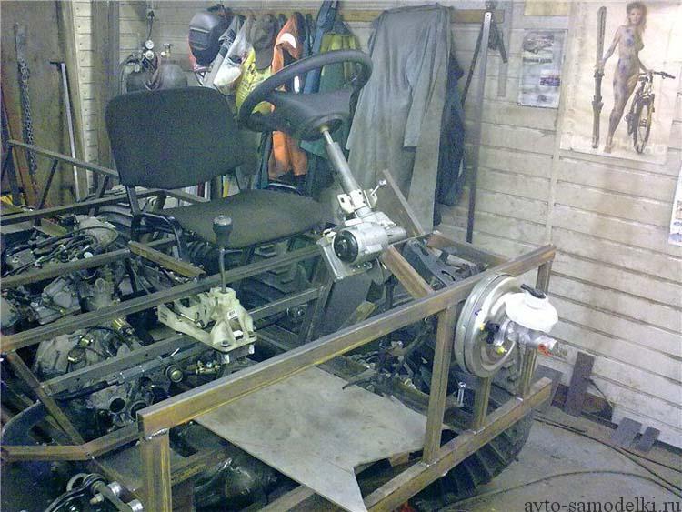 строим самодельный колёсный вездеход