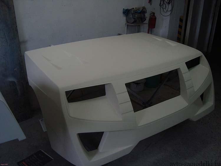 передний бампер автомобиля тюнинг