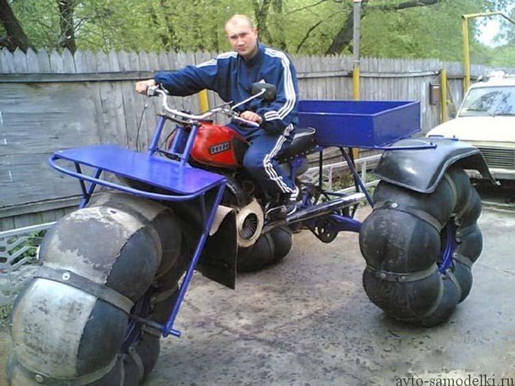 Самодельный гусеничный трактор своими руками фото 23