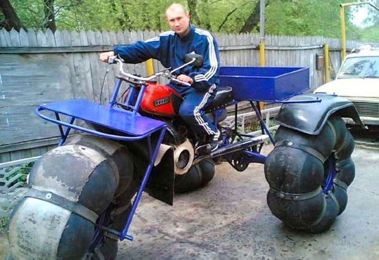 каракат из мотоцикла