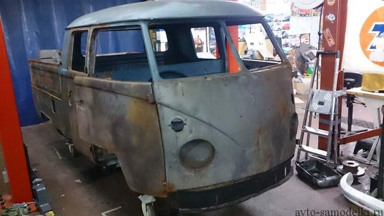 Восстановление автомобиля Volkswagen T1