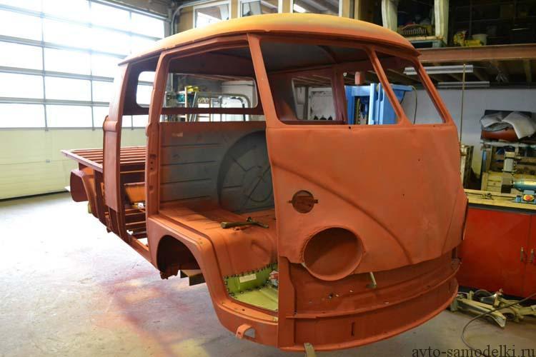 Восстановление автомобиля Volkswagen