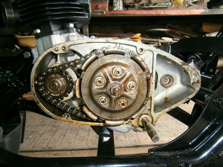 двигатель мотороллера