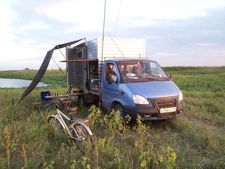 самодельный дом на колёсах