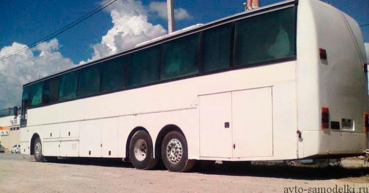 дом на колёсах из автобуса