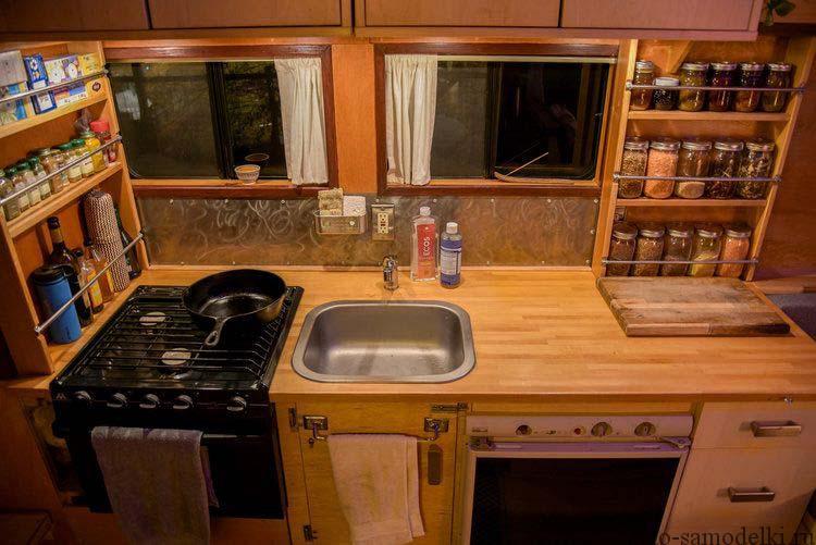 кухня кемпера
