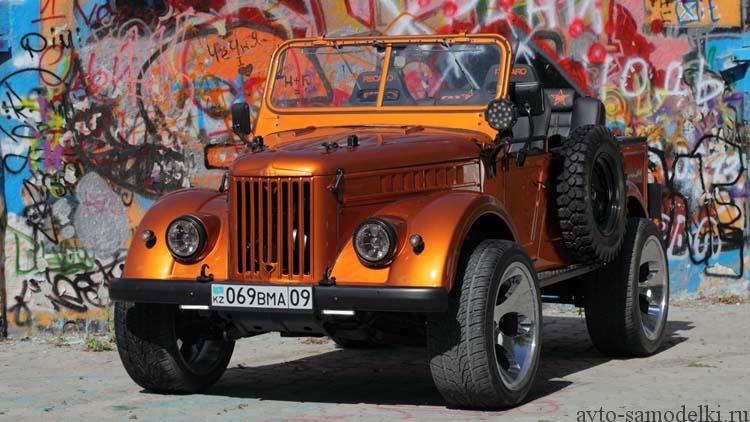 ГАЗ-69 тюнинг салона