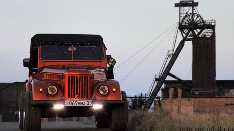 ГАЗ-69 тюнинг автомобиля