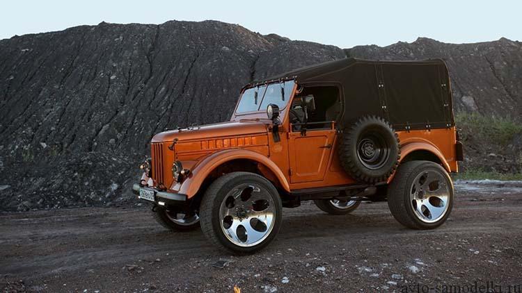 ГАЗ-69 тюнинг