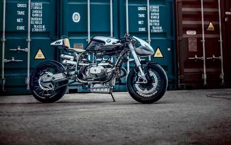 Кастом мотоцикла BMW