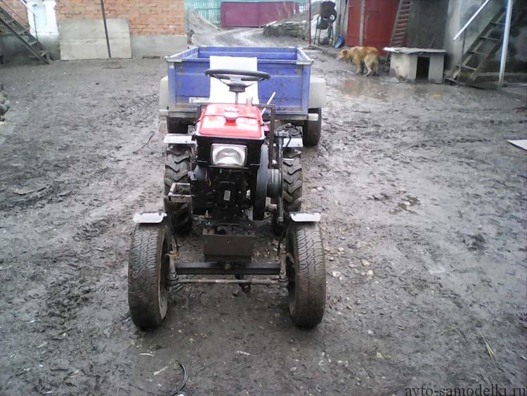 как сделать трактор фото