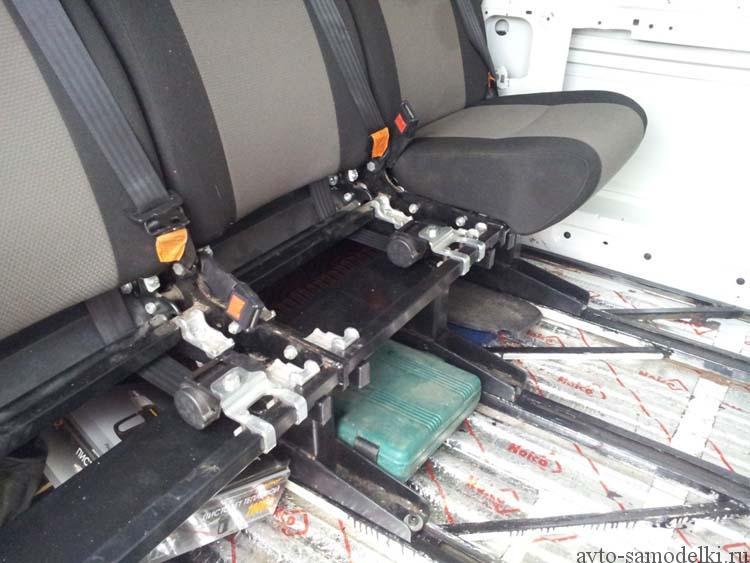 Переоборудование грузового микроавтобуса в пассажирский своими руками