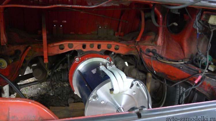 электродвигатель на автомобиль
