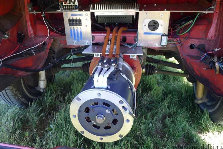 электромотор в микроавтобус