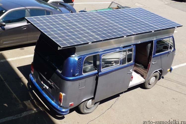 солнечная панель на крышу авто