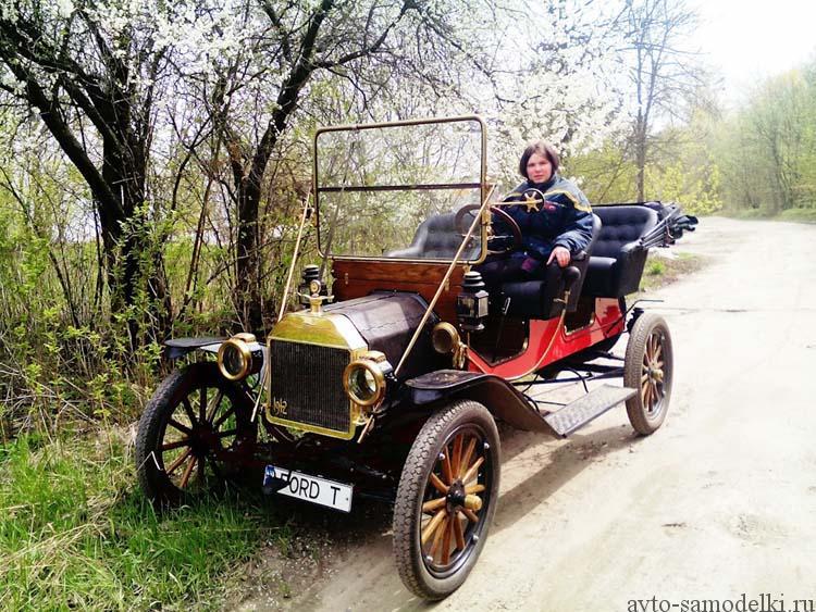 Реставрация автомобиля Ford Model T