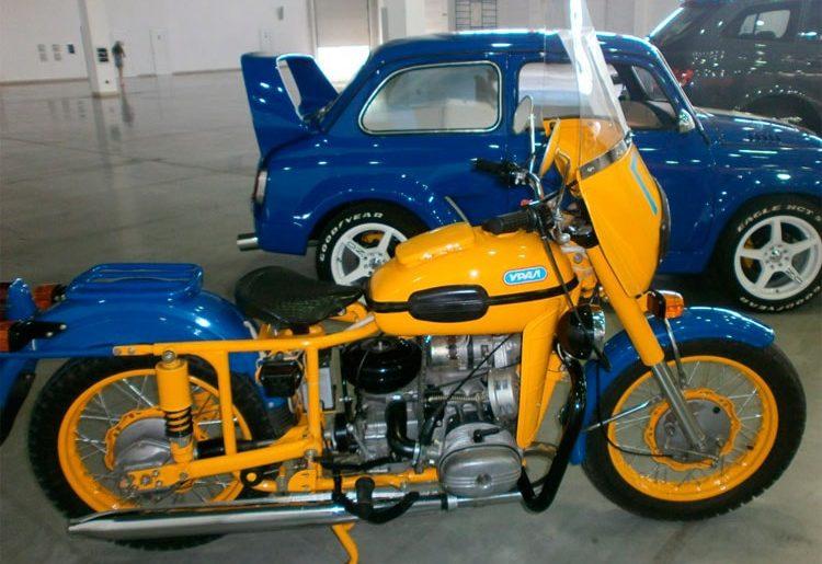реставрация мотоцикла Урал