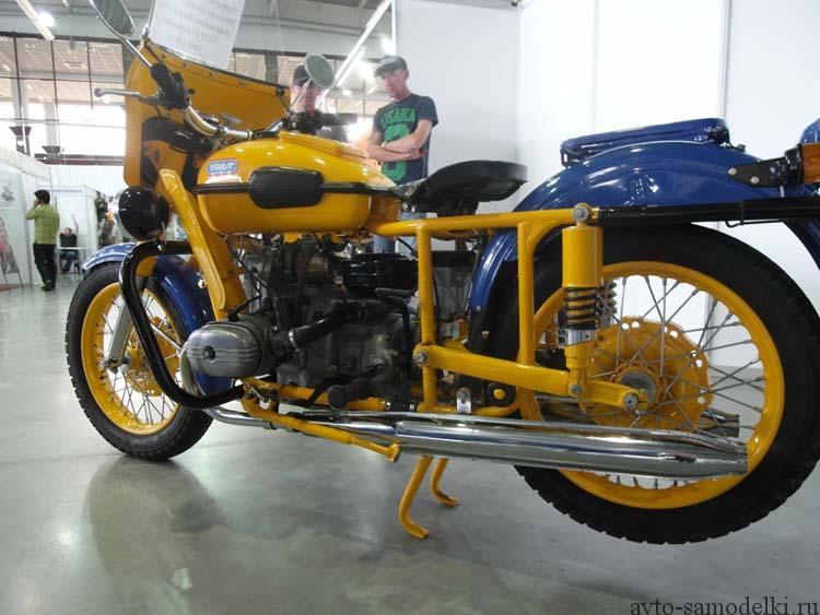 восстановление мотоцикла Урал ГАИ