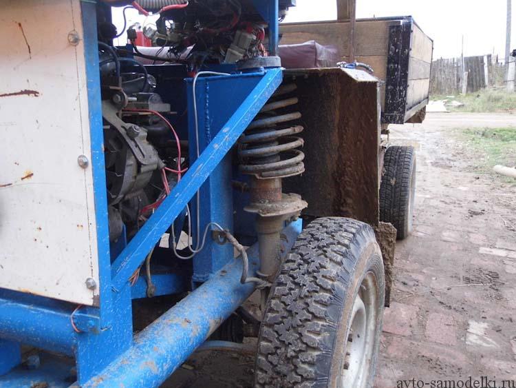 грузовой автомобиль своими руками