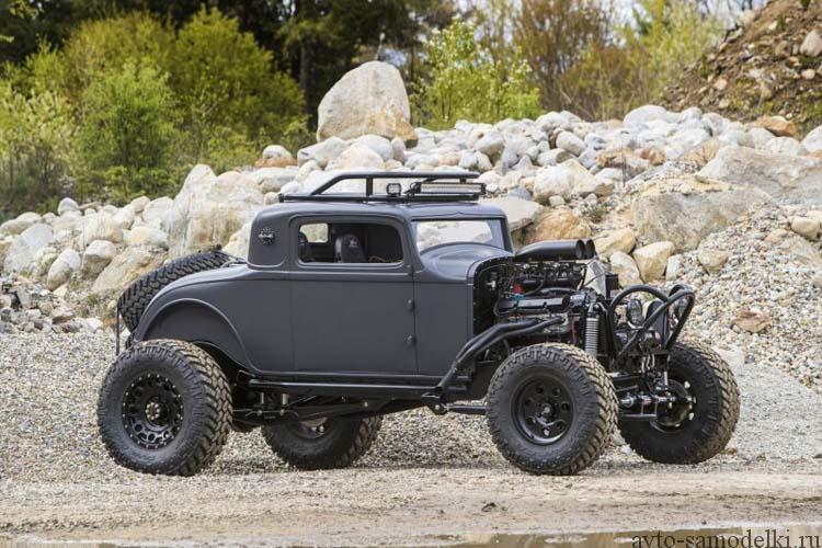 Самодельный Хот-род Dodge Coupe