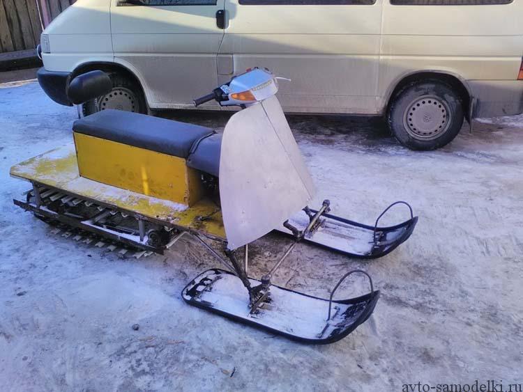 делаем снегоход сами