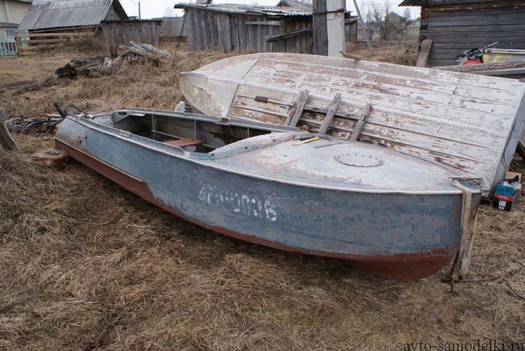 Установка двигателя Lifan на лодку