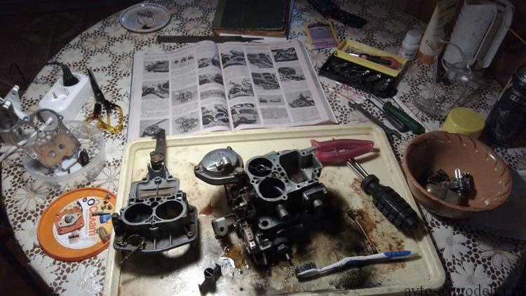 ремонт Москвич 2140 своими руками
