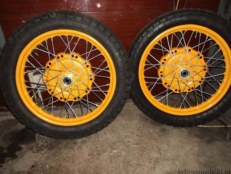 колёса мото