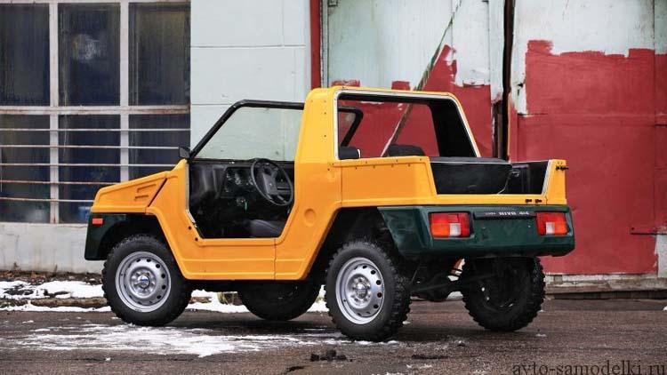 "прототип автомобиль ВАЗ-21 ""Бора"""