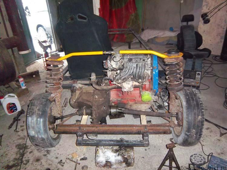 установка двигателя
