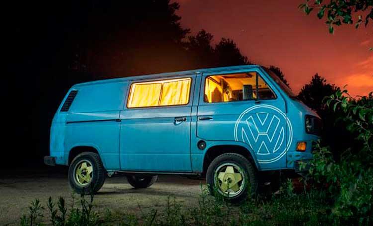 дом на колёсах из VW