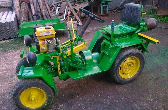 Мини-трактор сделать в домашних условиях 175
