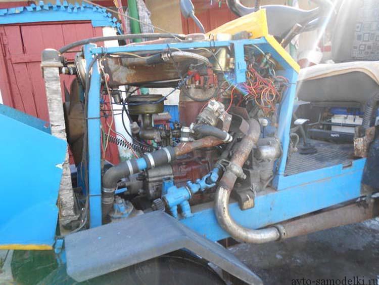 Минитрактор своими руками с двигателем от мотоблока фото 312